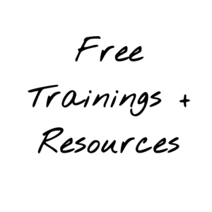Free Trainings