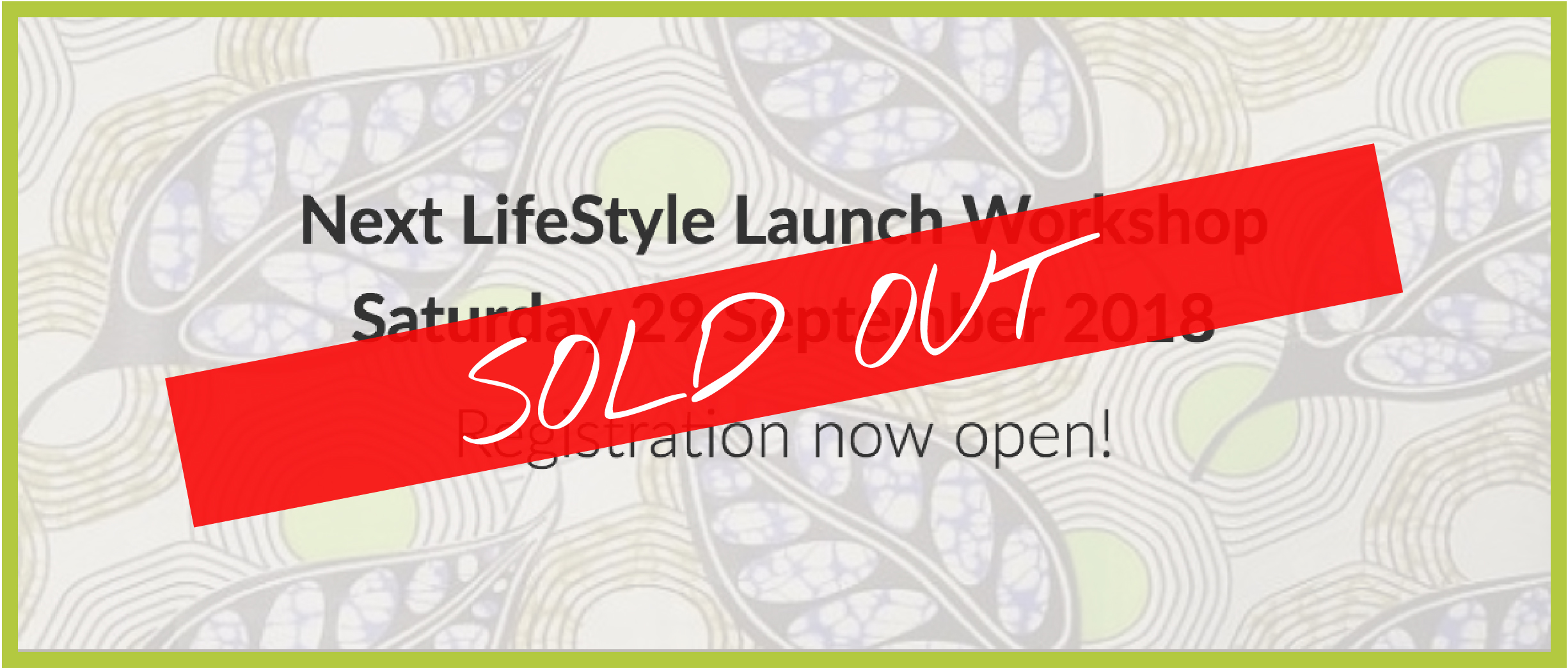 LifeStyle Launch - Sold Out 2