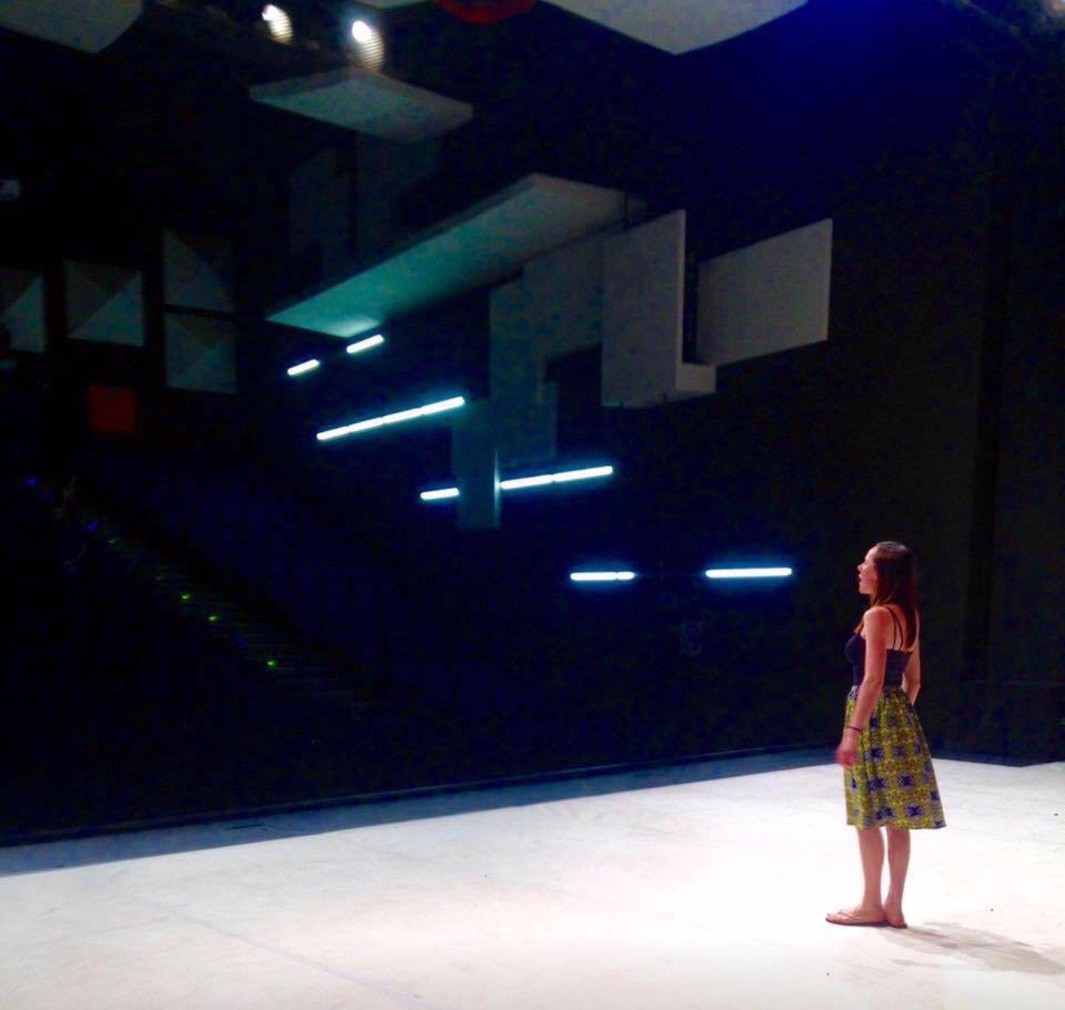 Roya Diehl on stage